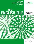Cover-Bild zu Intermediate: New English File: Intermediate: Workbook with key and MultiROM Pack - New English File von Oxenden, Clive