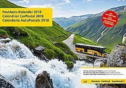 Cover-Bild zu Cal. PostAuto Ft. 48x33 2018