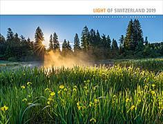 Cover-Bild zu Cal. Light of Switzerland Ft. 45x34 2019