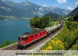 Cover-Bild zu Schweizer Bahnen Kalender 2019
