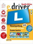 Cover-Bild zu e.Driver 2016/2017 - Theorieprüfung / Examen théorique / Esame teorico