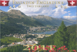 Cover-Bild zu Engadin Engadina 2011