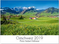 Cover-Bild zu Kalender Ostschweiz 2019