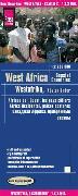 Cover-Bild zu Reise Know-How Landkarte Westafrika, Küstenländer (1:2.200.000) : von Senegal bis Nigeria. 1:2'200'000