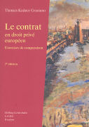Cover-Bild zu Le contrat en droit privé européen