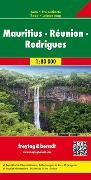 Cover-Bild zu Mauritius - Réunion - Rodrigues, Autokarte 1:80.000. 1:80'000