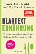 Cover-Bild zu Bracht, Petra: Klartext Ernährung