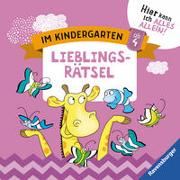 Cover-Bild zu Jebautzke, Kirstin: Im Kindergarten: Lieblingsrätsel
