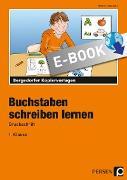 Cover-Bild zu Jebautzke, Kirstin: Buchstaben schreiben lernen - Druckschrift (eBook)