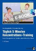 Cover-Bild zu Jebautzke, Kirstin: Täglich 5 Minuten Konzentrations-Training (eBook)