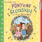 Cover-Bild zu Ponyhof Glücksklee - Emma und das Ponyglück (Audio Download) von Schellendorff, Linda