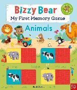 Cover-Bild zu Reid, Camilla: Bizzy Bear: My First Memory Game Book: Animals