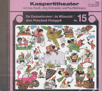 Cover-Bild zu De Zauberbrunne i de Wüeschti