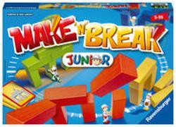 Cover-Bild zu Lawson, Andrew und Jack: Ravensburger 22009 - Make 'n' Break Junior - Gesellschaftsspiel für die ganze Familie mit Bausteinen, Junior Version, Spiel für Erwachsene und Kinder ab 5 Jahren, für 2-5 Spieler
