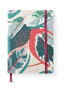 Cover-Bild zu teNeues Calendars & Stationery GmbH & Co. KG: Floral 16x22 cm - GreenLine Journal - 176 Seiten, Punktraster und blanko - Hardcover - gebunden