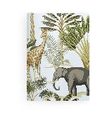 Cover-Bild zu teNeues Calendars & Stationery GmbH & Co. KG: Jungle 14,8x21 cm - GreenLine Booklet - 48 Seiten, Punktraster und blanko, Softcover - gebunden