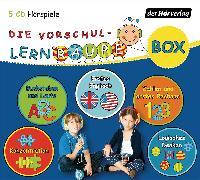 Cover-Bild zu Die Vorschul-Lernraupen-Box von Zorn, Swantje