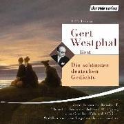 Cover-Bild zu Gert Westphal liest: Die schönsten deutschen Gedichte von Goethe, Johann Wolfgang von
