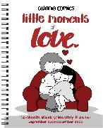 Cover-Bild zu Chetwynd, Catana: Catana Comics: Little Moments of Love 16-Month 2021-2022 Monthly/Weekly Planner