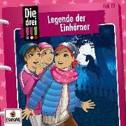 Cover-Bild zu Die drei !!! 73: Legende der Einhörner