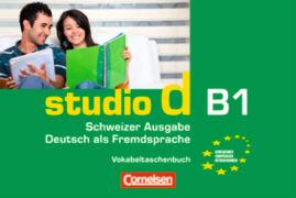 Cover-Bild zu studio d B1. Schweizer Ausgabe. Vokabeltaschenbuch