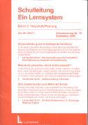 Cover-Bild zu Bd. 2/19: Haushalt/Planung. 19. Aktualisierungslieferung