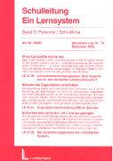 Cover-Bild zu Bd. 3/19: Personal / Schulklima. 19. Aktualisierungslieferung