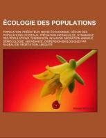 Cover-Bild zu Écologie des populations