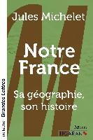 Cover-Bild zu Notre France (grands caractères)