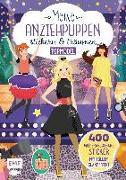 Cover-Bild zu Meine Anziehpuppen - stickern & träumen: Topmodel von Liepins, Carolin (Illustr.)