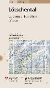 Cover-Bild zu Lötschental. 1:25'000