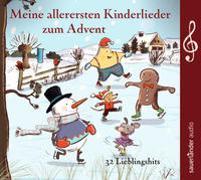 Cover-Bild zu Hoffmann, Klaus W. (Gespielt): Meine allerersten Kinderlieder zum Advent
