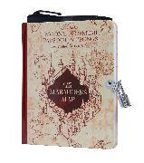Cover-Bild zu Insight Editions: Harry Potter: Marauder's Map Invisible Ink Lock & Key Diary