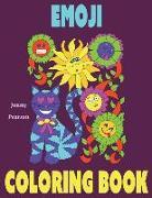 Cover-Bild zu Pearson, Jenny: Emoji Coloring Book