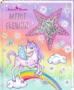 Cover-Bild zu Finsterbusch, Monika (Illustr.): Freundebuch - Einhorn-Paradies - Meine Freunde