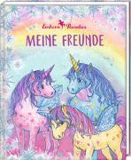 Cover-Bild zu Monika Finsterbusch (Illustr.): Freundebuch - Einhorn-Paradies - Meine Freunde