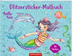 Cover-Bild zu Monika Finsterbusch (Illustr.): Nella Nixe - Glitzersticker-Malbuch