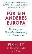 Cover-Bild zu Hennette, Stéphanie: Für ein anderes Europa (eBook)
