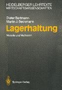Cover-Bild zu Bartmann, Dieter: Lagerhaltung