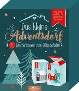 Cover-Bild zu Das kleine Adventsdorf. 24 Geschenkboxen zum Selbstbefüllen