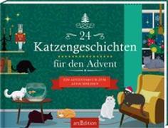 Cover-Bild zu 24 Katzengeschichten für den Advent
