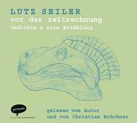 Cover-Bild zu Seiler, Lutz: vor der zeitrechnung