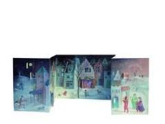 Cover-Bild zu Schroeder, Binette: Adventskalender Stadtlandschaft