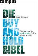 Cover-Bild zu Kommer, Gerd: Die Buy-and-Hold-Bibel