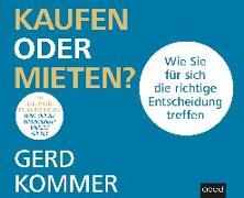 Cover-Bild zu Kommer, Gerd: Kaufen oder mieten?