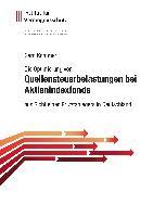 Cover-Bild zu Kommer, Gerd: Die Optimierung von Quellensteuerbelastungen bei Aktienindexfonds