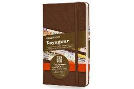 Cover-Bild zu Moleskine Brown Voyageur Notebook