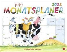 Cover-Bild zu Heine, Helme: Helme Heine Monatsplaner Kalender 2022