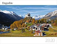 Cover-Bild zu Cal. Engadin Ft. 40x31 2020