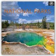 Cover-Bild zu National Parks 2022 - 18-Monatskalender mit freier TravelDays-App